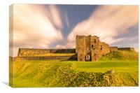 Towering Tynemouth Castle, Canvas Print