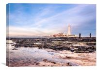 Cool and beautiful St Mary, Canvas Print