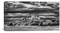 King of Castles in Mono, Canvas Print