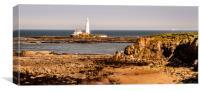 Our rugged coastline, Canvas Print