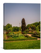 The Toronto Islands Gardens, Canvas Print