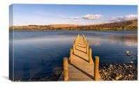 Jetty View at Ullswater - Reuploaded, Canvas Print