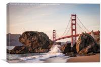 Golden Gate Bridge, San Francisco, Canvas Print