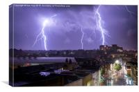 Nature strikes Bournemouth, Canvas Print