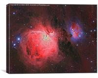 Messier 42 The Great Orion Nebula, Canvas Print
