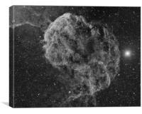 Jellyfish Nebula IC443, Canvas Print