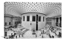 The British Museum London Classic View, Canvas Print