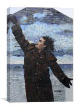 Billy Connolly in Glasgow, Canvas Print