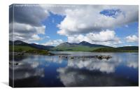 Black Mount, the Highlands , Scotland, Canvas Print