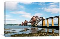 Forth Bridge , Scotland, Canvas Print