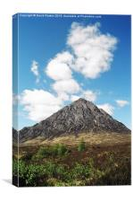Buachaille Etive Mor in the Scottish Highlands, Canvas Print