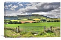 Fife countryside, Canvas Print