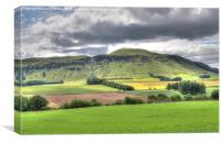 Fife countryside landscape, Canvas Print