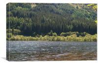 Loch Lubnaig , Scotland, Canvas Print