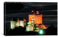 Eilean Donan Castle in the wintertime ,  Scotland, Canvas Print