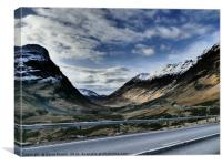 Glencoe HDR  , the Highlands , Scotland, Canvas Print