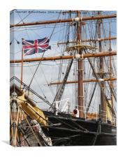 RRS Discovery , Dundee, Canvas Print