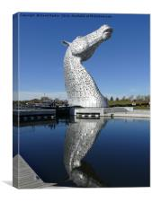 The Kelpies , Helix Park , Falkirk, Canvas Print