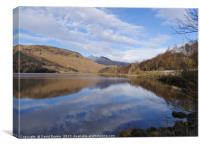 Loch Lubhair, Scotland, Canvas Print