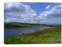 Loch Long, the Highlands, Scotland, Canvas Print