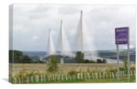 new Queensferry Crossing, Canvas Print