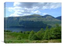 Loch Lochy , the Highlands , Scotland, Canvas Print