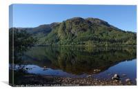 Loch Lubnaig,  near Callander ,  Stirling, Scotlan, Canvas Print