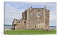 Blackness Castle ( Fort William in Outlander ), Canvas Print
