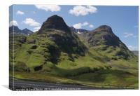 Glencoe , Scotland, Canvas Print