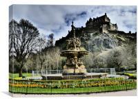 Edinburgh Castle, Scotland, Canvas Print