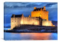 Eilean Donan Castle , the Highlands , Scotland, Canvas Print