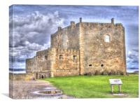 Blackness Castle HDR ( Fort William in Outlander ), Canvas Print