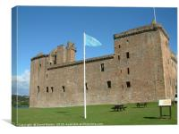 Linlithgow Palace , Scotland, Canvas Print