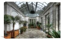 The Orangery , Canvas Print