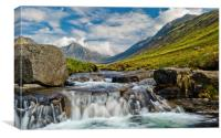 Glen Rosa and Goatfell, Arran, Canvas Print