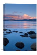 Sunset at Imachar, Isle of Arran, Canvas Print