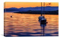 Lochranza Sunrise, Isle of Arran, Canvas Print