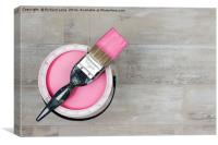 Pink Paint, Canvas Print