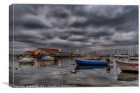 Stormy skies on the Mar Menor, Canvas Print