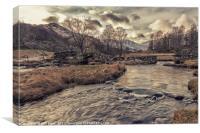 Slaters bridge, Cumbria, Canvas Print