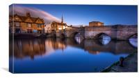The Bridge of St Ives, Cambridge, Canvas Print
