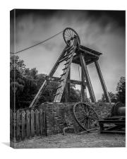 Pit Head, Canvas Print