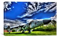 Harrier Jump Jet HDR, Canvas Print