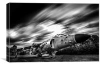 Harrier Jump Jet, Canvas Print