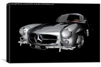 Mercedes-Benz 300SL, Canvas Print