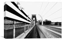 Clifton Suspension Bridge, Bristol UK, Canvas Print