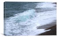 Durdle Door waves, Dorset, Canvas Print