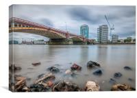 Vauxhall Bridge in London, Canvas Print
