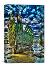 Wrecked, Canvas Print