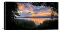 Tay Sunset, Canvas Print